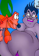 Ursula breasts cock free famous toon