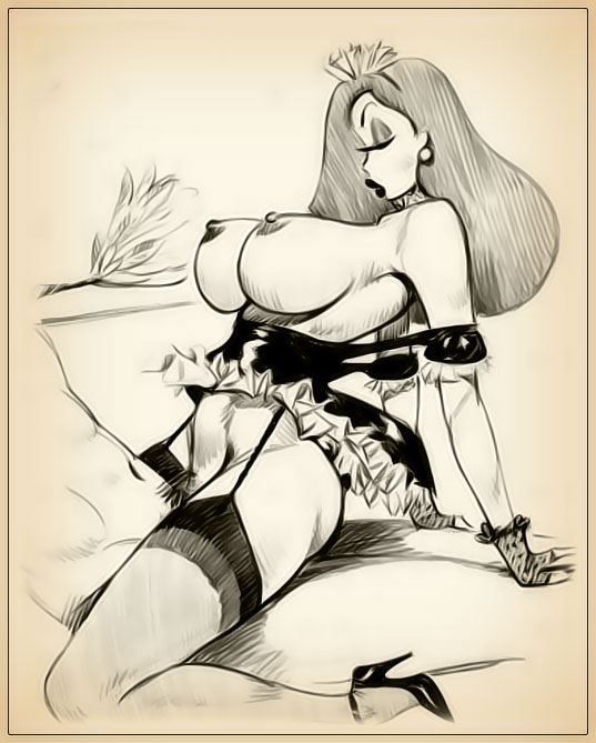 Jessica rabbit sketch nude possible speak