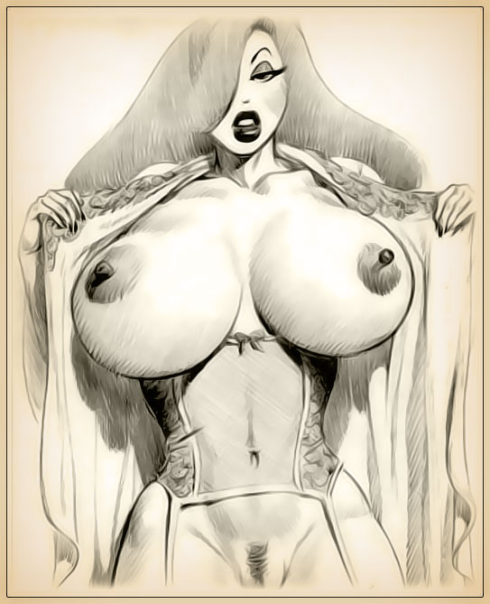 Charming Jessica rabbit sketch nude consider
