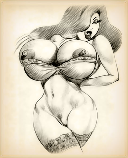 Xxx sketches of jessica rabbit