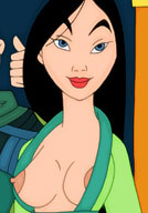 Nut Mulan gives a very erotic till drilled