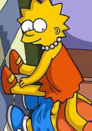 Simpson getting dick bombed nude toons